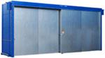 Compartimenten voor pallets en IBCs