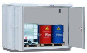 Hiltra container model CC-MB 2-1100 (ISO)