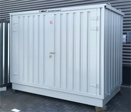 UIT - Hiltra® Chemicaliëncontainer model CC-MB 2-1100-T (45678)> Nieuw, magazijnopruiming
